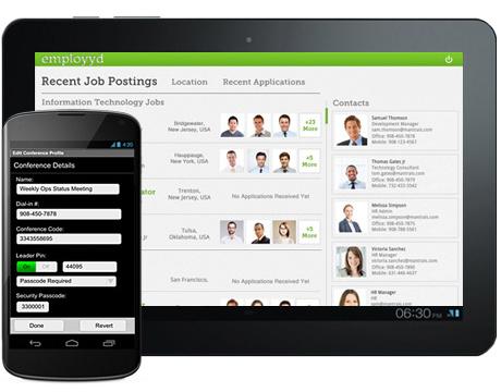 Job App - iPad Android Application Development